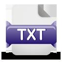Ícone de download do arquivo TXT