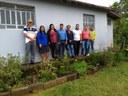 Membros da Câmara Municipal de Santana do Riacho, visitam a comunidade de Capão Redondo.