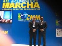 Presidente da Câmara participou da 21ª Edição da Marcha a Brasília em Defesa dos Municípios